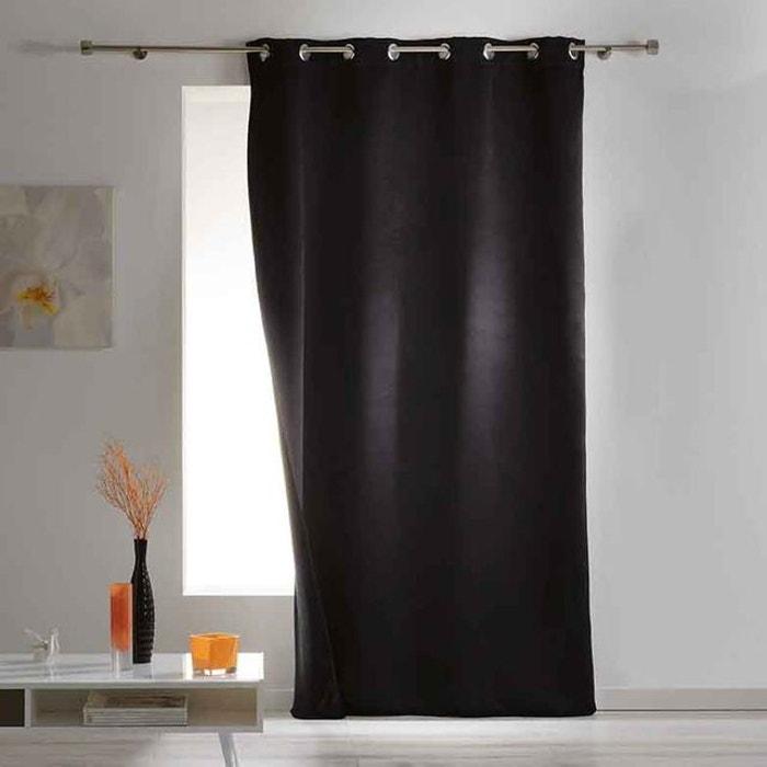 rideau occultant et isolant uni home maison la redoute. Black Bedroom Furniture Sets. Home Design Ideas