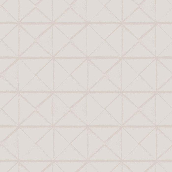 Papier Peint Motif Geometrique Losange Fabrique En Belgique Tenue De