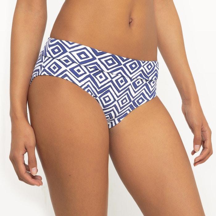 Graphic Print Bikini Bottoms