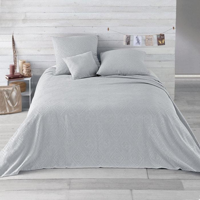 dessus de lit coton jacquard indo la redoute interieurs la redoute. Black Bedroom Furniture Sets. Home Design Ideas