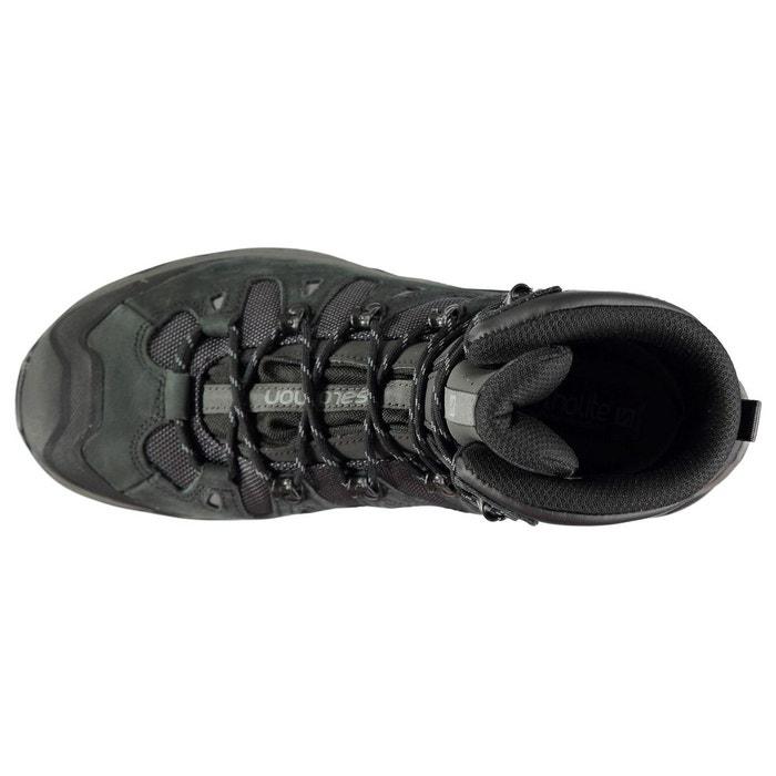 Bottes de marche imperméable en gore-tex phantom/noir Salomon