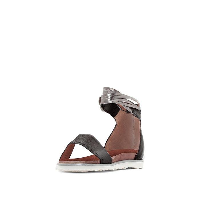 Sandales plates, cuir, tittle Mjus