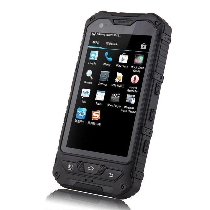 smartphone antichoc 4 pouces waterproof android 4 2 t l phone tanche noir yonis la redoute. Black Bedroom Furniture Sets. Home Design Ideas
