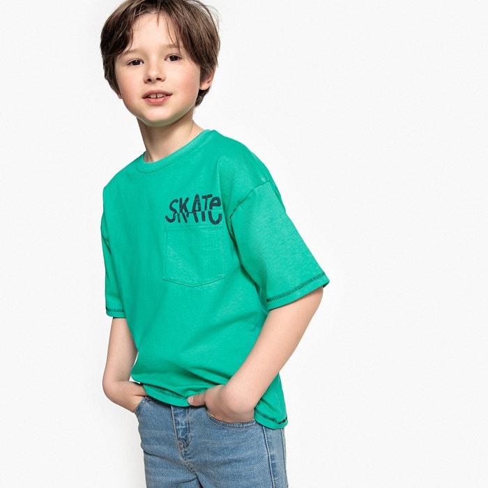 T-shirt oversize da 3 a 12 anni  La Redoute Collections image 0