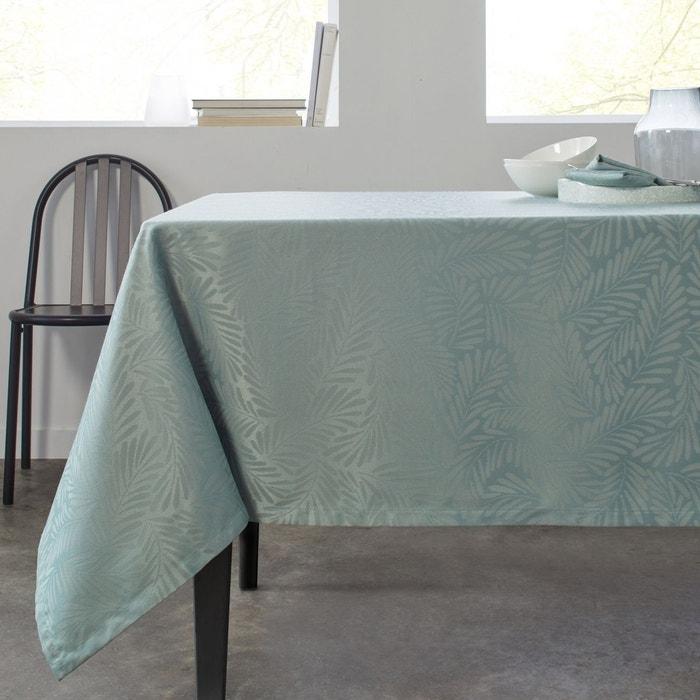 Nappe rectangulaire polyester mimoza vert vert madura la redoute - Nappe rectangulaire grande taille ...