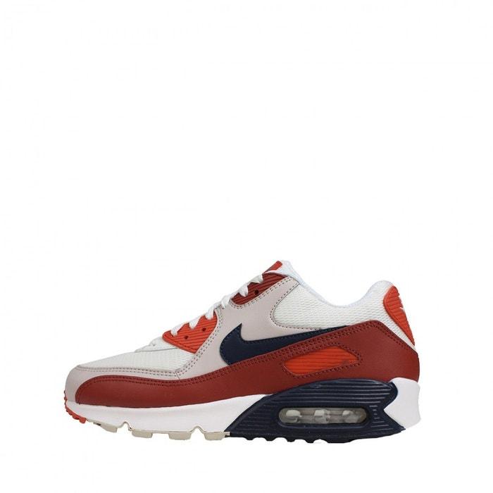 newest 5c2d4 6b95e Baskets nike air max 90 essential - ref. aj1285-600 rouge Nike   La Redoute