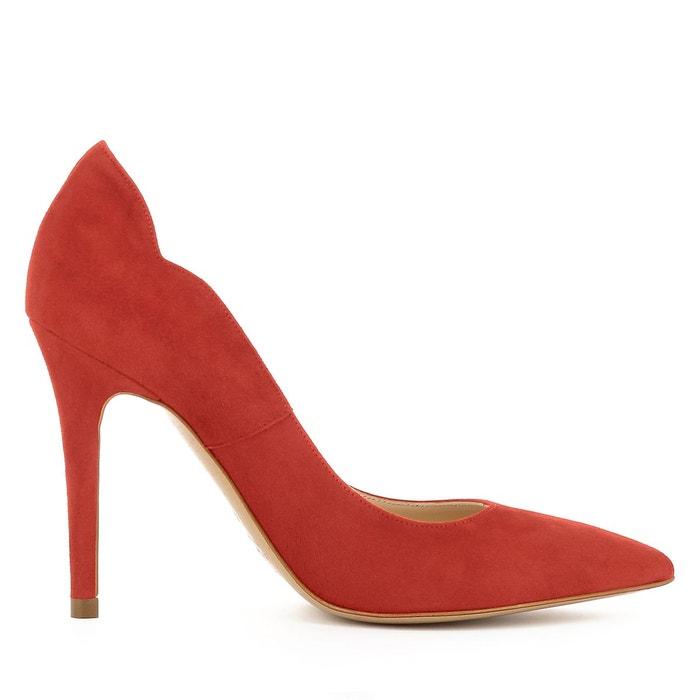 Escarpins femme rouge Evita