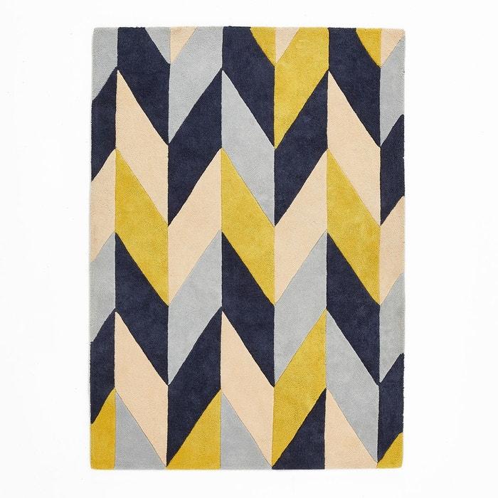 tapis coton tuft brasco multicolore la redoute. Black Bedroom Furniture Sets. Home Design Ideas