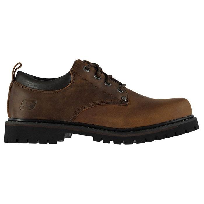 Chaussures décontractées en cuir Skechers