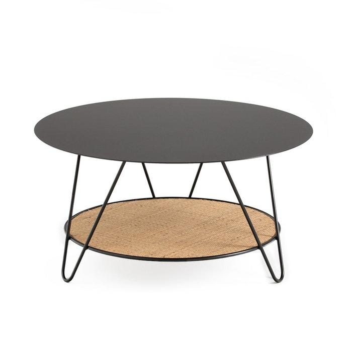 Métal Table Table Métal CannageRosali Basse Basse Et WDEH2Y9I
