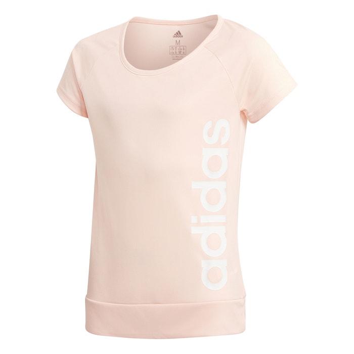 141a13c4f Camiseta 4 - 15 años rosa palo Adidas Performance