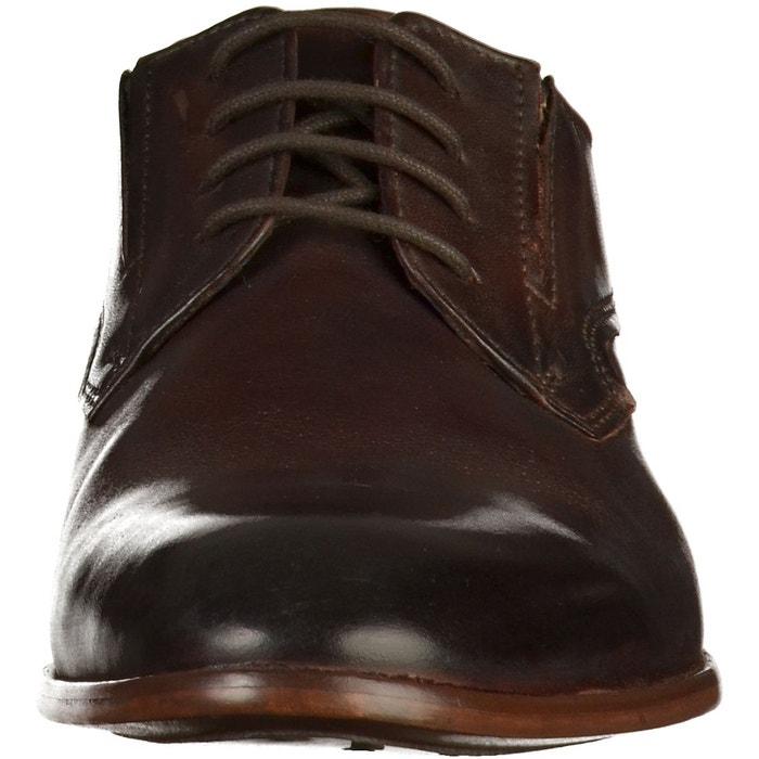 Chaussures basses marron foncé Bugatti
