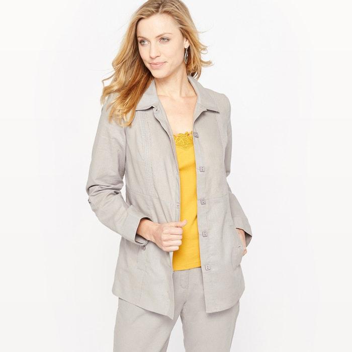 Linen Rich Jacket  ANNE WEYBURN image 0