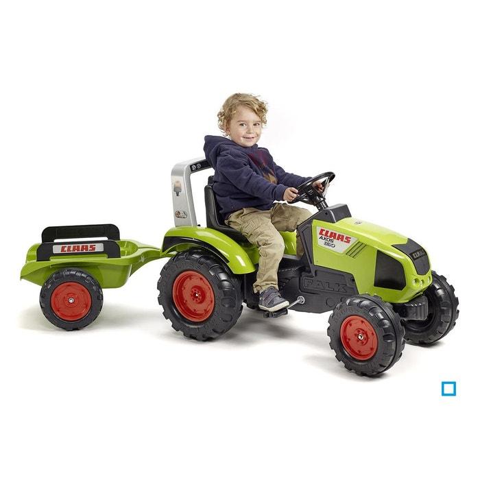 Tracteur à pédales claas avec remorque - fal1011ab vert Falk   La Redoute dc0a44adfcb4