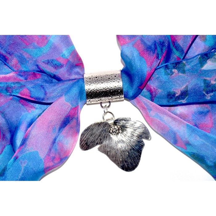 Bijou de foulard GINGKO en métal