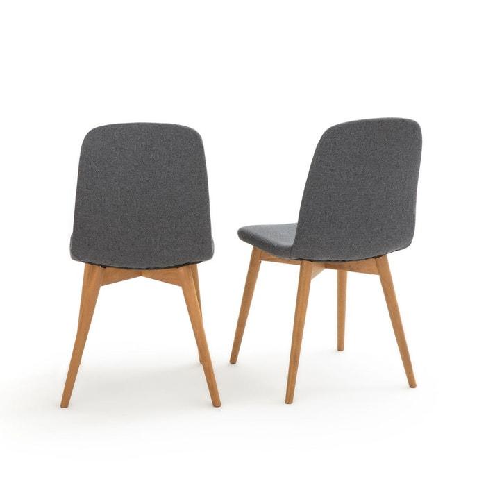 Lot de 2 chaises Plato