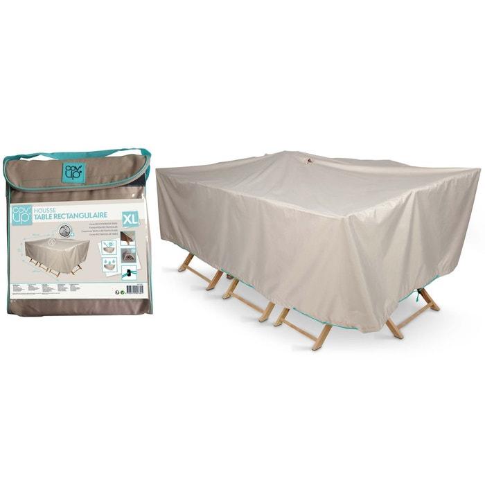 Housse table de jardin rectangulaire 240 x 130 cm, Cov\'Up