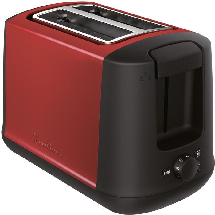 grille pain moulinex lt340d11 subito select rouge moulinex la redoute. Black Bedroom Furniture Sets. Home Design Ideas