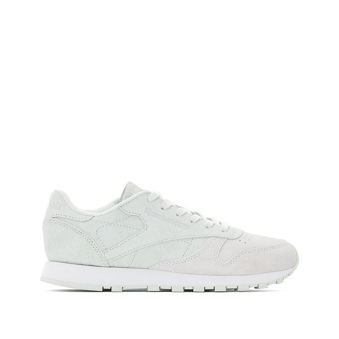 cdf6f9f0c7cd5 Sapatilhas classic leather branco Reebok