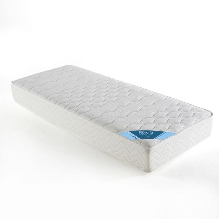 matelas accueil latex confort ferme blanc reverie la redoute. Black Bedroom Furniture Sets. Home Design Ideas