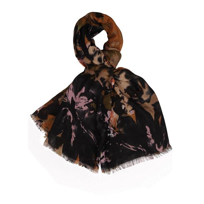 89cd1b343124 Foulard noir marron Stella D oro   La Redoute Mobile