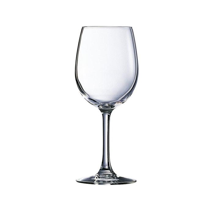 verre vin 25 cl vendu par 6 cabernet transparent luminarc la redoute. Black Bedroom Furniture Sets. Home Design Ideas