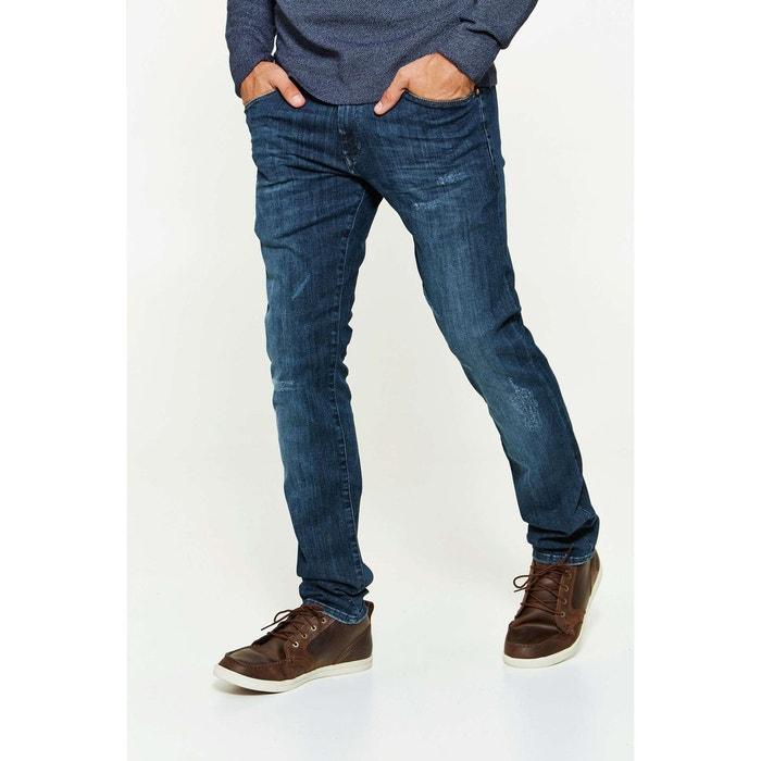 2bcc73a0ccbe1 Jeans wrangler larston slim tapered bleu delave homme bleu Wrangler   La  Redoute
