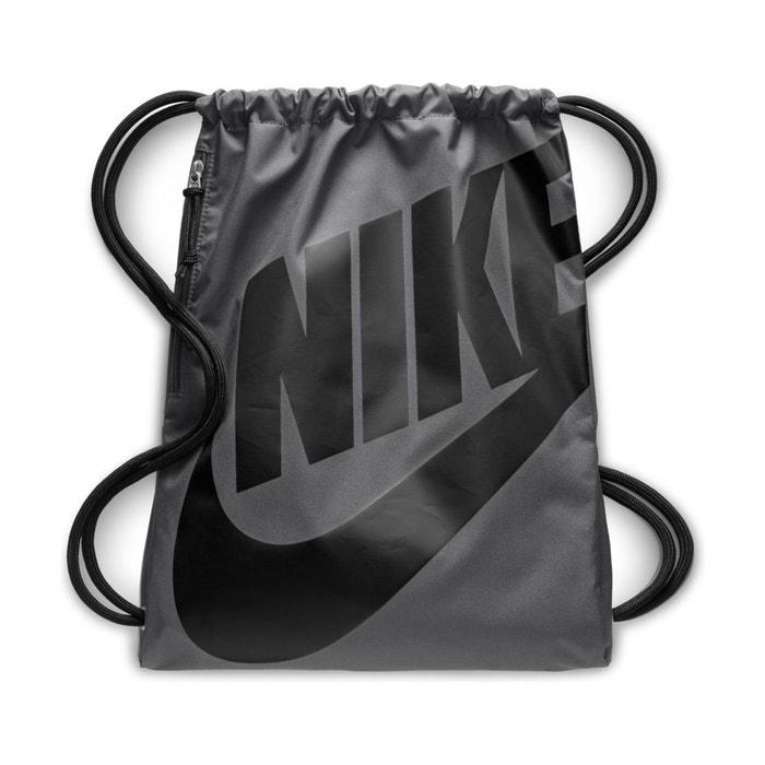 san francisco 04871 b5905 Heritage gym sack backpack , grey, Nike   La Redoute