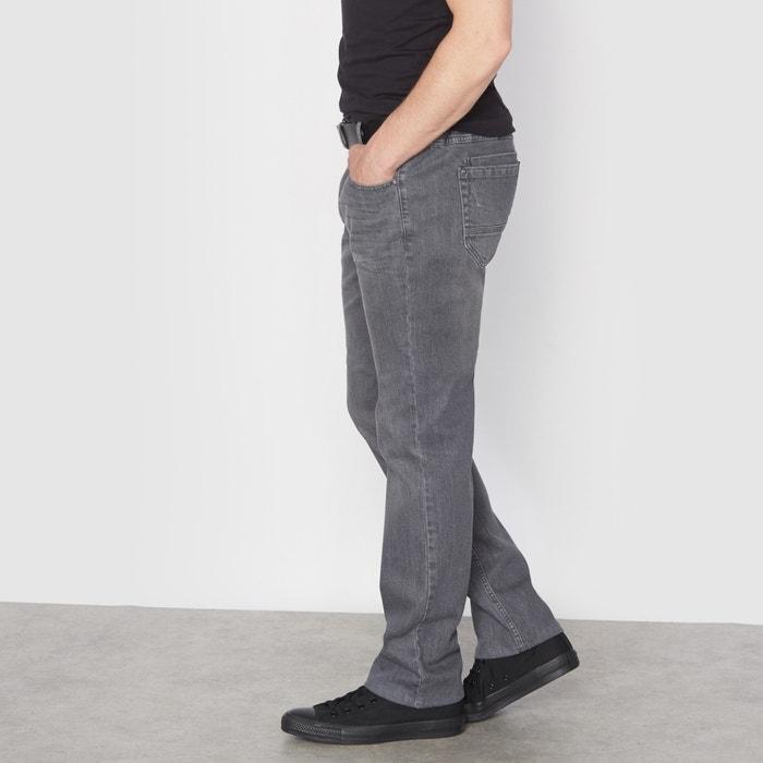 Image Jean stretch gris taille élastiquée côtés CASTALUNA FOR MEN