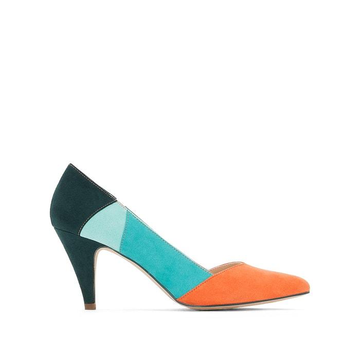 Zapatos multicolor de tacón  La Redoute Collections image 0