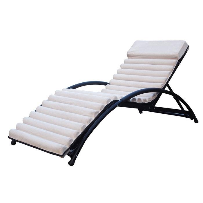bain de soleil structure matelass 233 e tr 232 s confortable utilisation durable par tous les temps