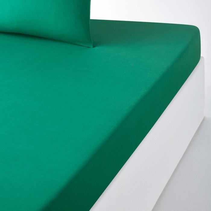 drap housse coton pour matelas standard scenario la redoute. Black Bedroom Furniture Sets. Home Design Ideas