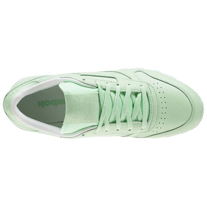 Basket reebok classic leather pastels - bd2773 vert Reebok
