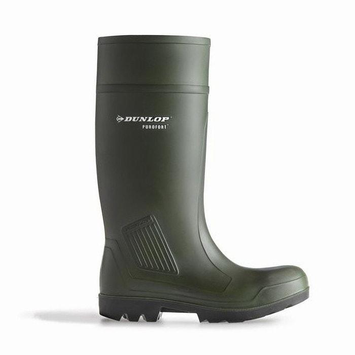Dunlop purofort d460933 - bottes en caoutchouc - homme  vert Dunlop  La Redoute