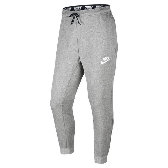 Pantalon de sport jogpant gris chiné Nike  a620f53fe1a