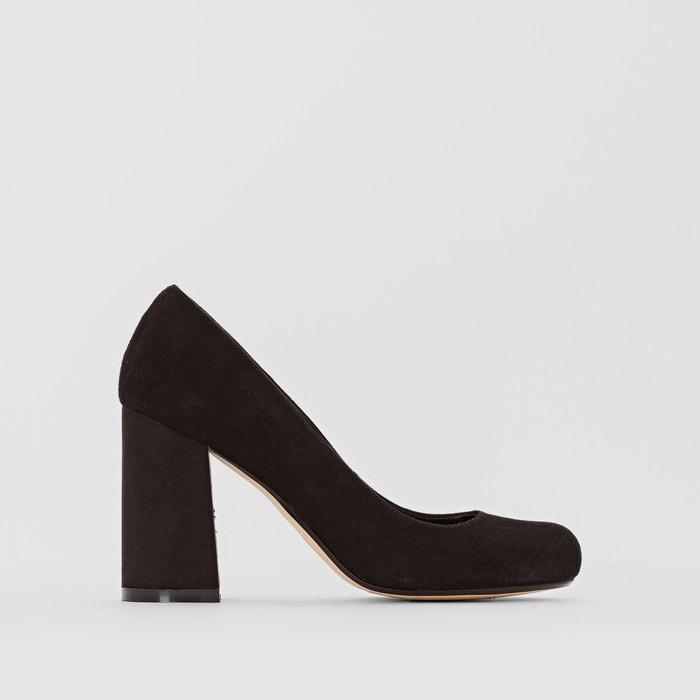 Image ALOHA Suede Leather Heels DUNE LONDON