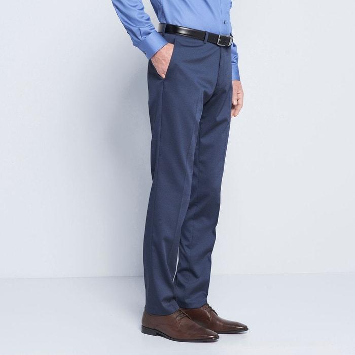 pantalon de costume homme bleu bleu marine devred la redoute. Black Bedroom Furniture Sets. Home Design Ideas