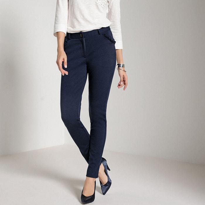 Pantaloni affusolati in maglia milano  ANNE WEYBURN image 0