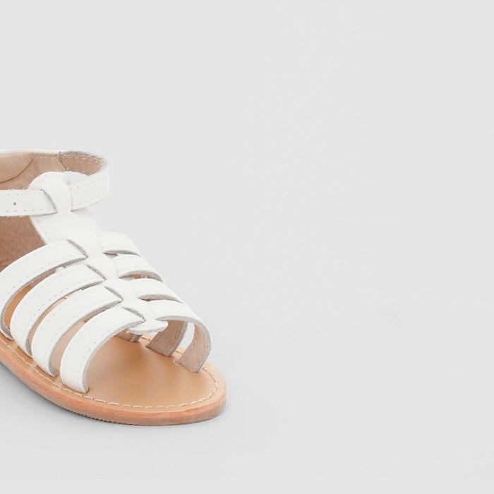 Sandálias estilo romano, em pele La Redoute Collections