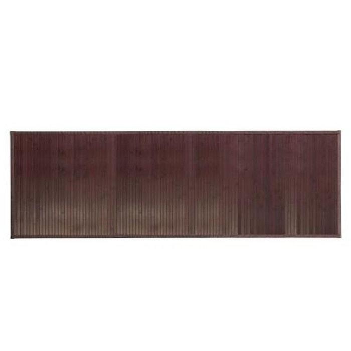 Tapis Salle De Bain Antiderapant En Bambou 62 X 50 Cm