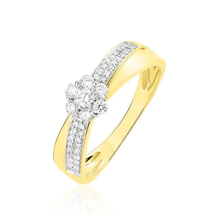 Bague or et diamant jaune Histoire D'or | La Redoute dégagement ue0W6