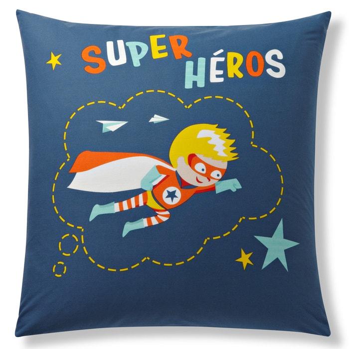 Imagen de Funda de almohada para niño, Super Héros La Redoute Interieurs