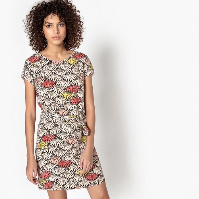 Calliope Printed Shift Dress  SUNCOO image 0