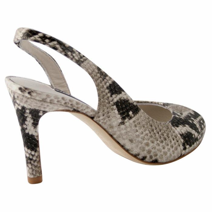 Sandales lady beige Exclusif Paris