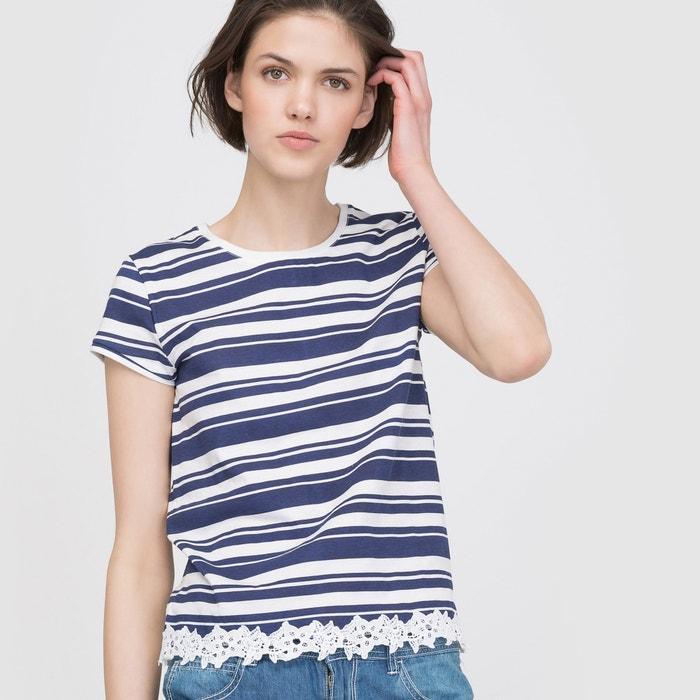 Image T-shirt rayé manches courtes R édition