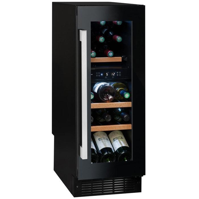Cave à vin de service - 2 temp. - 17 bouteilles - noir - aci-avi572  Avintage   La Redoute b2844ef81fab