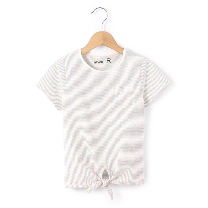 T-shirt da annodare davanti 3-12 anni  La Redoute Collections image 0
