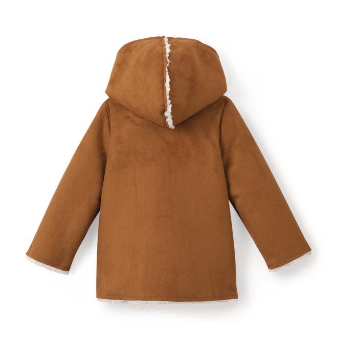 Image Manteau moutonné à capuche 1 mois - 3 ans La Redoute Collections