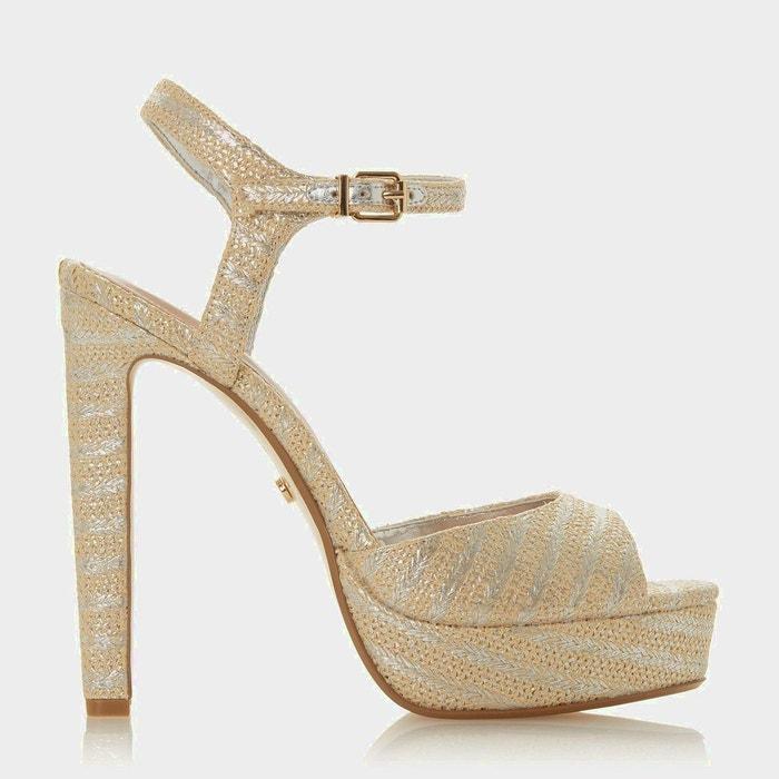 sandale talon urbaine