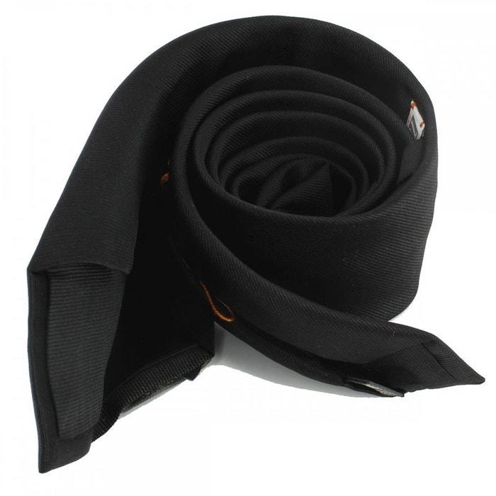 Cravate soie 6 plis, nero, faite à la main noir Tony Et Paul | La Redoute
